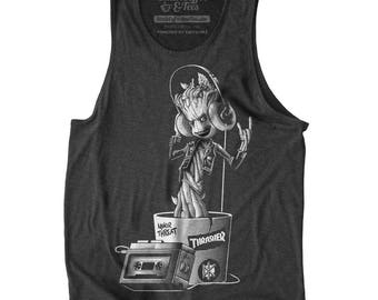Baby Groot Mens Tank Top - Guardians of the Galaxy Shirt