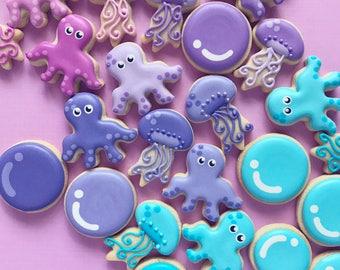 Octopus Sugar Cookies