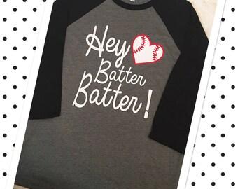 HEY BATTER BATTER Baseball Styler T-shirt/Regular T-shirt