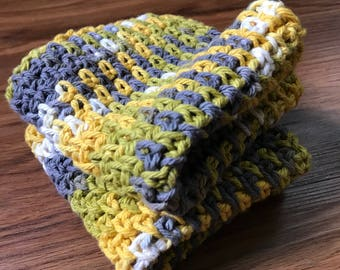 Crocheted washcloths /dishcloths patterned