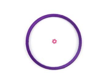 x 3 circles, purple ring 7cm for dream dream, dreamcatcher, mobile (38)