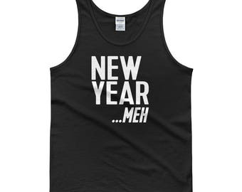Tank top - happy new year, new year, new years party, 2018 new year, new year gift, new years shirt, 2018, new year resolution, funny