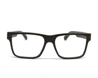 Wooden Glasses Handmade Glasses Prescription Glasses Wood Eyeglasses Thick Frame Eco Eyeglasses Wooden Sunglasses Wood Frames Eco Eyewear