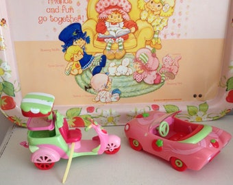 Strawberry Shortcake Car and Scooter * FREE SHIPPING*