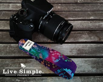 DSLR Wrist Camera Strap Hippie Boho | Accessories | Soft Cotton | Live Simple®