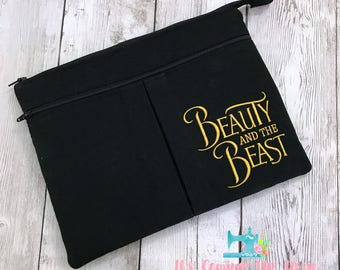 iPad Case - Beauty and the Beast - iPad Air/Air2/Pro 9.7 and smaller