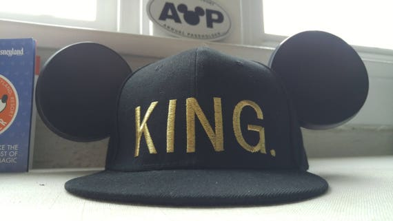 King Hat. Mickey Hat. Mickey Ears.
