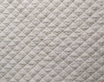 Quilted Sandcastle - 100% cotton fabric