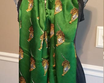 Scarf Bundle. Brown and Green Theme. 3 Scarves.