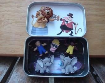 Altoids tin, Pocket Toy, Circus