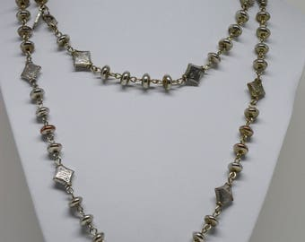 Gorgeous Silver Tone Necklace
