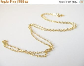 SALE Chain Upgrade - 14K Gold Filled 20 Inch Chain
