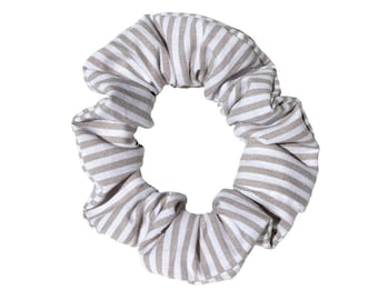 Scrunchies striped cotton Womens girl