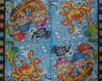 Set of 6 napkins paper Vielseidig & Safuri pirates, pirates napkin