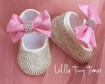 babies first shoes, baptism shoes, crib shoes, birthday shoes, special occasion shoes for baby
