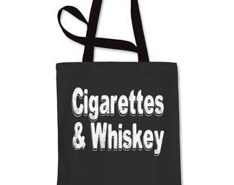 Cigarettes And Whiskey Shopping Tote Bag