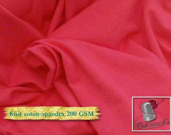 Knit, 200 gsm, Fuchsia, cotton-spandex, 92-8%, jersey, spandex, multiple quantity cut in one piece,
