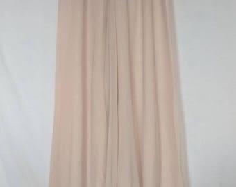 Vintage Pale Pink Sheer Palazzo Pants