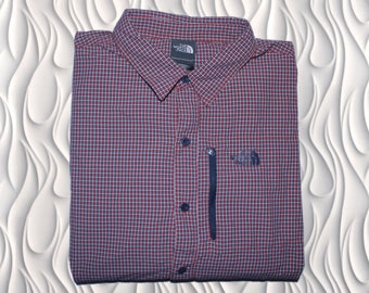 THE NORTH FACE - X-Large (fits M-L) - Waterproof plaid Shirt
