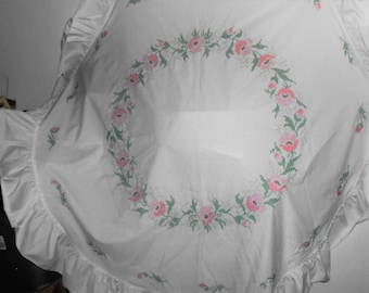 New Hand Embroidered Tablecloth
