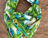 Camping Themed Dog Bandana - Camper - Tent - Mountains - Pine Trees