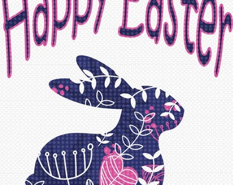 Sublimation Transfer, Easter designs, Easter transfers, Happy Easter, Easter bunny