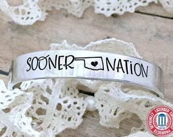 University Of Oklahoma | OU | Boomer Sooner | OU Sooners | Oklahoma Sooners | Oklahoma Jewelry | College Jewelry | College Bracelets