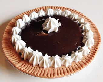 Chocolate pie for the American girl and all her 18 inch dolls.