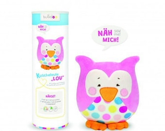 Kullaloo lou ROSE OWL plushie Kit