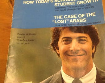 Dustin Hoffman Look magazine