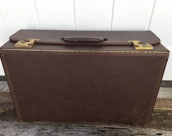 Vintage Salesman Case, Pilot Case, Camera Case, Travel Case