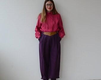80s Vintage Pants
