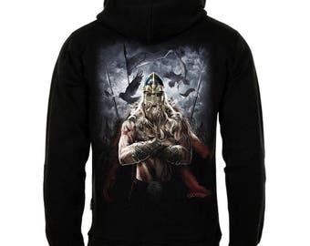 Viking Warrior Zipper Hoody