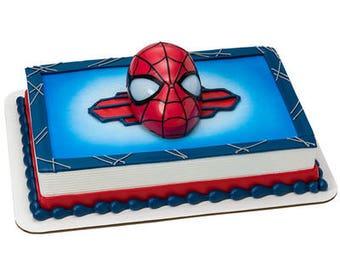 SpiderMan Cake Topper - Ultimate Light Up Eyes