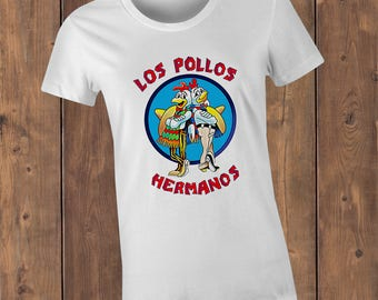 Los Pollos Hermanos T-Shirt, inspired by the Breaking Bad TV show.