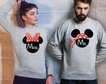 Disney mr and mrs  Etsy