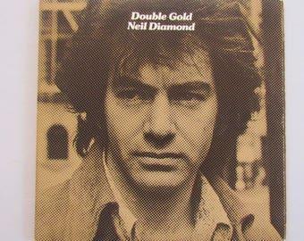 Neil Diamond, Double Gold, Vinyl Double Record LP Gatefold Album, 70s Pop Music