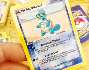Doctor Colossus x Squirtle Trading Card