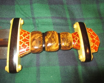 Hilt for Anglo Saxan Spatha or Seax Swords (no blade or scabbard)