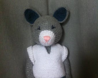 Crochet Plush Thomas the Cat
