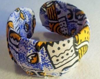 African fabric Bangle
