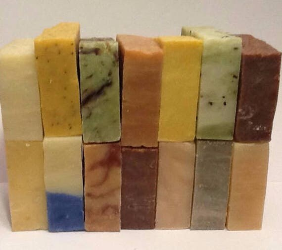 2 (42 CHOICES) Wholesale Vegan/Organic Cold Process Soap Loaves