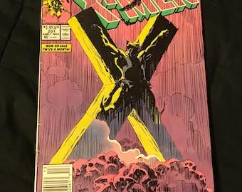 Vintage Uncanny X-Men # 251 Classic Wolverine Cover Marc Silvestri 1989 Marvel Comics Chris Claremont