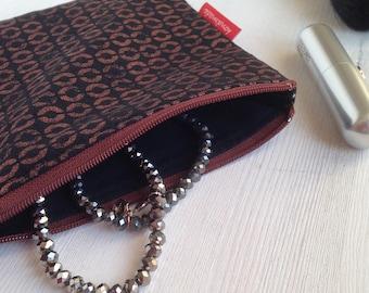 Bustina da borsetta con cerniera