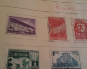 Russia stamps russia airmail