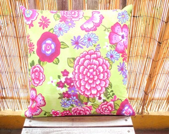 Spring pillow cover and cushion
