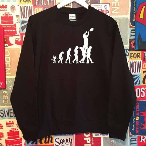 Evolution Rugby Lineout Sweatshirt. Unisex Quality Sweatshirt. Xmas Christmas. Holiday Present or Gift. Rugby World Cup. Rugby Sevens