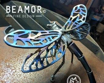 Dragonfly Animal Metal Art Small garden art wall art