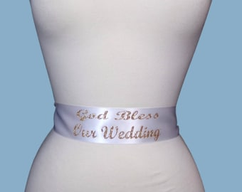 Wedding Sash Belt, Bridal Sash Belt