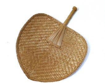 Large Straw Fan